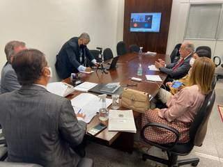 Reunião da bancada federal de MS. (Foto: Divulgação)