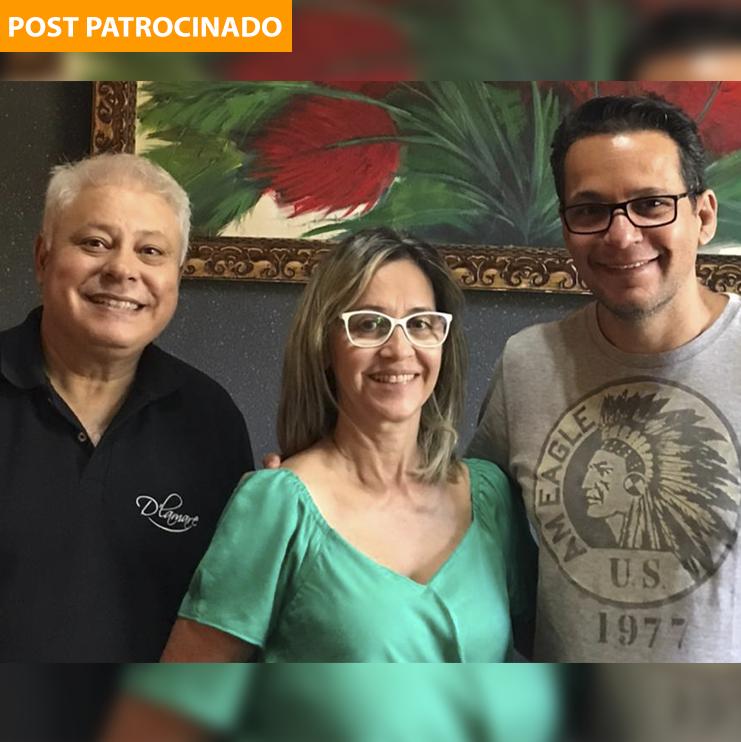 Ronaldo's, Maria e Luís Márcio se dedicam ao novo espaço, mantendo a qualidade e exclusividade dos serviços oferecidos no famoso D'Lamare. (Foto: Divulgação)