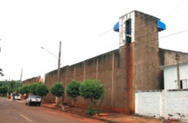 Testagem foi realizada ontem (24) no presídio de Cassilândia (Foto: Cassilândia Noticias)