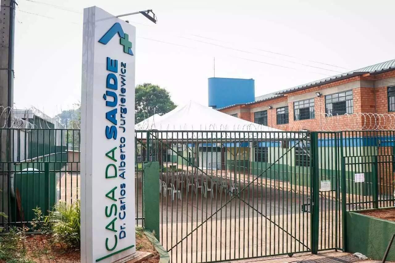 Fachada da Casa da Saúde região central de Campo Grande. (Foto:Henrique Kawminami/Arquivo Campo Grande News)