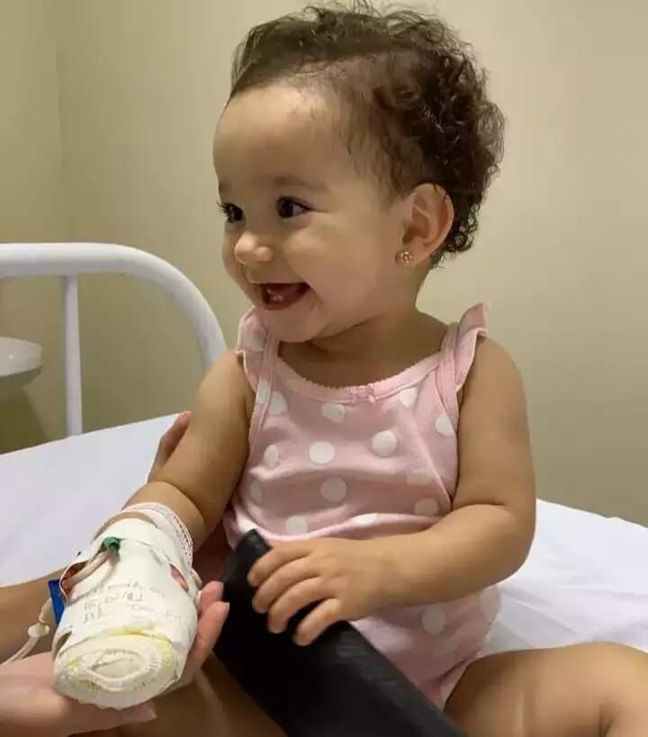 Luísa morreu um dia antes de completar 1 aninho. (Foto: Arquivo Pessoal)
