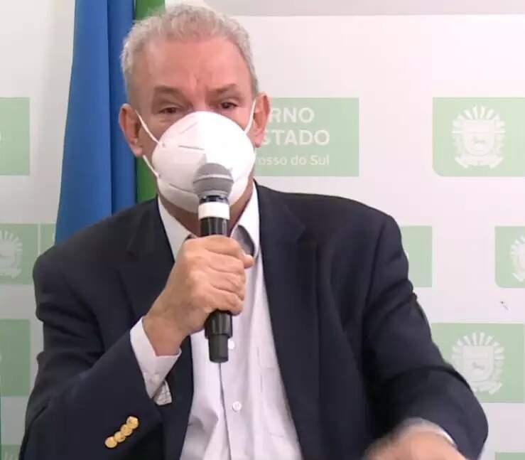 Geraldo Resende, secretário de Saúde de MS, que foi alvo de golpistas que clonam celulares. (Foto: Arquivo)