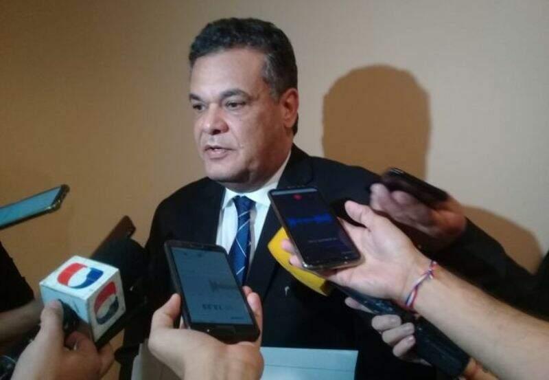 O deputado Robert Acevedo, que morreu hoje vítima da covid-19 (Foto: ABC Color)