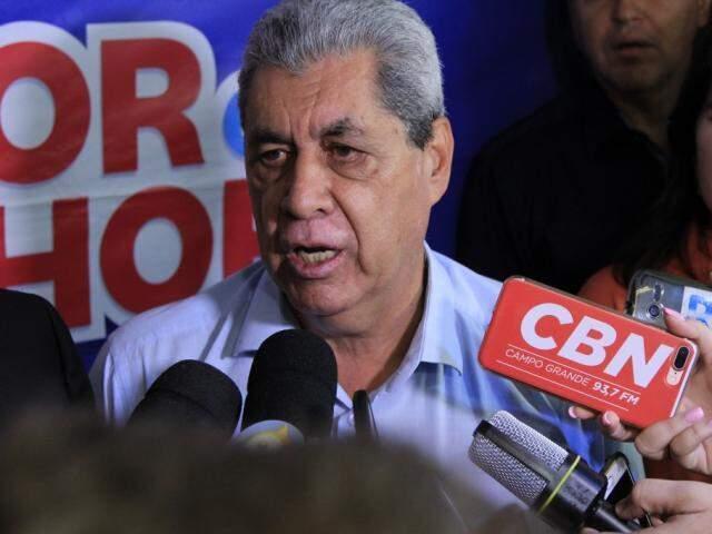 O ex-governador, André Puccinelli foi inocentado pela Justiça por falta de provas. (Foto: Arquivo)