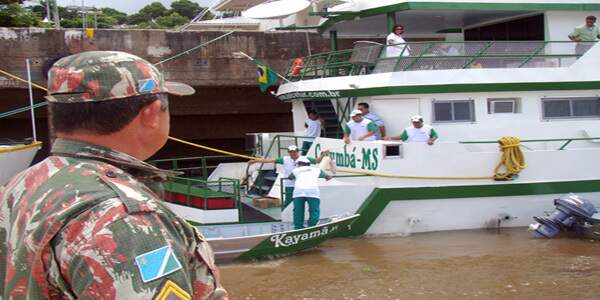 Fiscalização da PMA continua nos rios de MS para coibir ilegalidades (Foto/Divulgação)