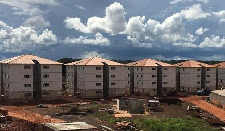 Residencial será destinado às famílias com renda bruta até R$ 1,8 mil (Foto/Divulgação)