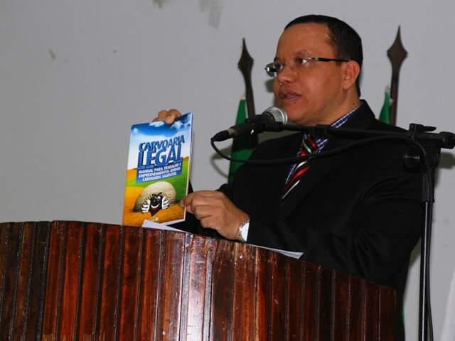 Procurador Cícero Rufino é investigado pelo Ministério Público Federal de São Paulo.