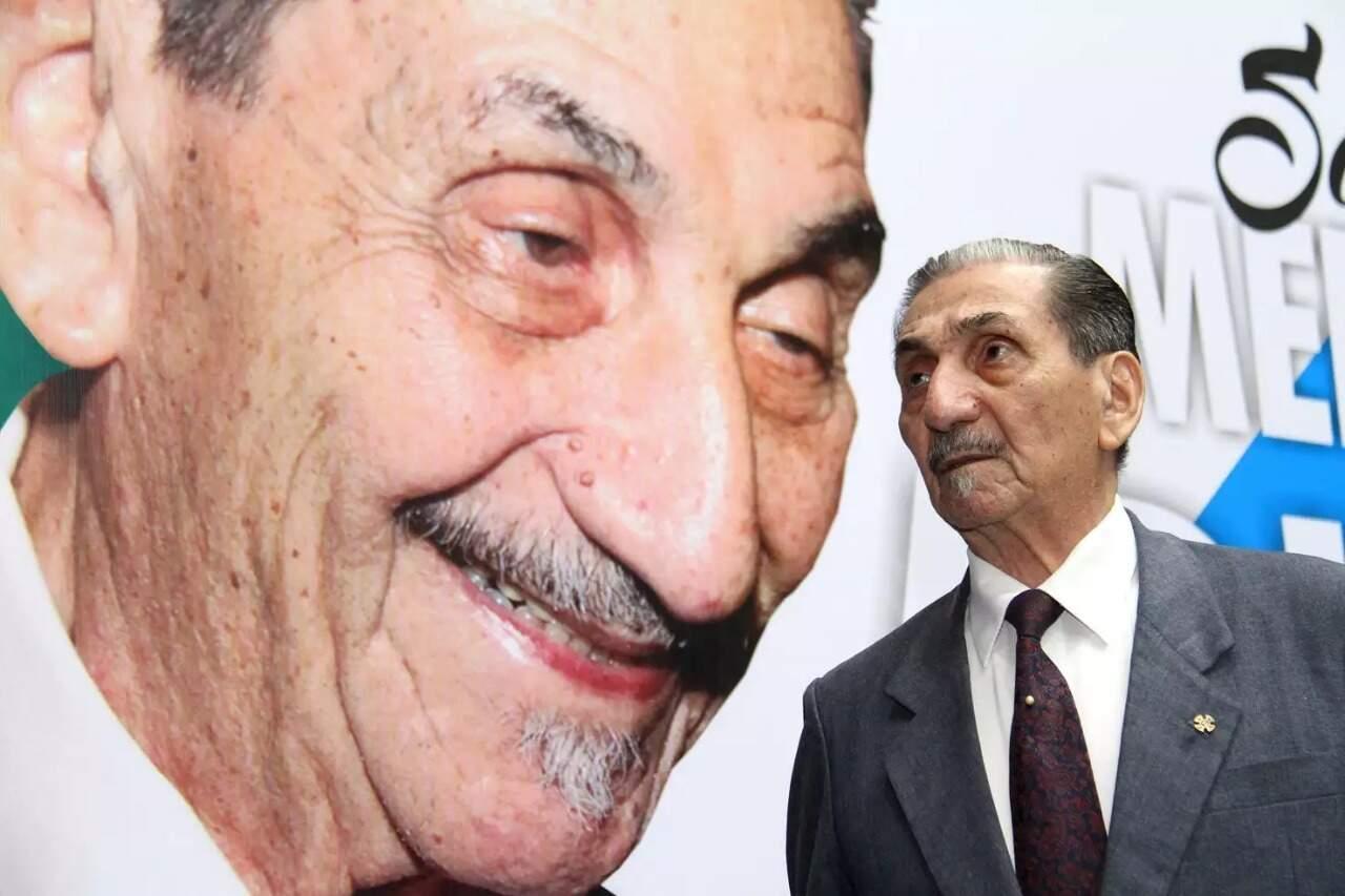 Adib Massad era refêrencia para todos os integrantes das forças de segurança do Estado (Foto: Wagner Guimarães/ALEMS)