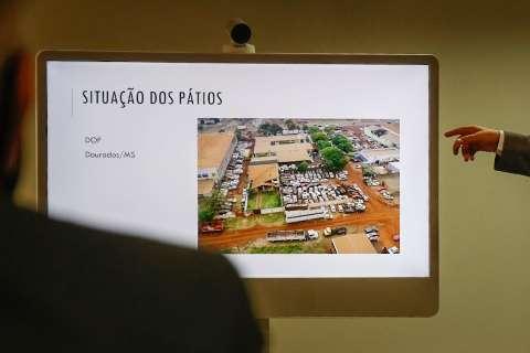 MS cobra pressa para leiloar 7.500 veículos do crime que abarrotam delegacias