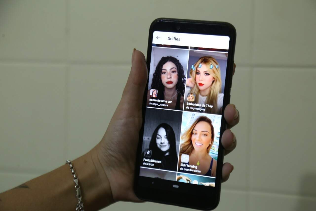 """Campanha """"Se ame sem filtros"""" ganha adesão de milhares de mulheres (Foto: Kísie Ainoã)"""