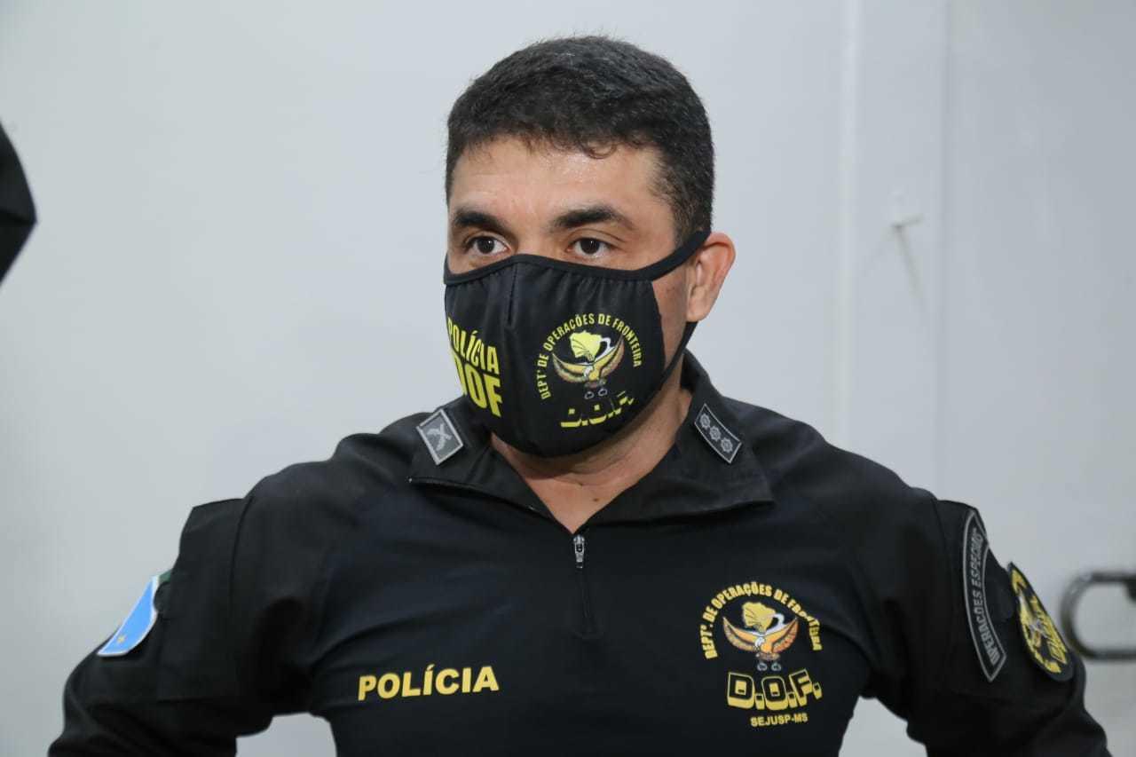 Comandante Wagner Ferreira da Silva diz que Adib era considerado um pai. (Foto: Kísie Ainoã)