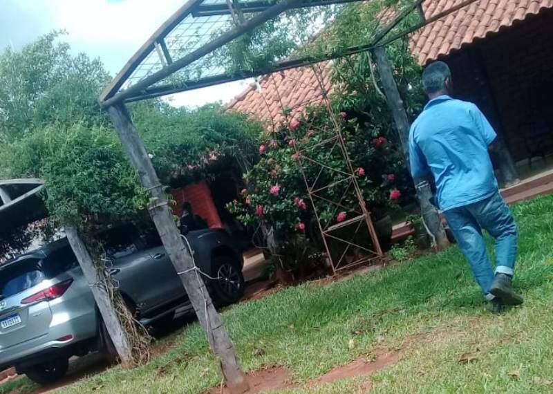 Propriedade onde brasileiro foi morto por pistoleiros, no Paraguai (Foto: Direto das Ruas)