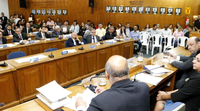 Pleno da OAB/MS reunido. (Foto: Divulgação OAB/MS)