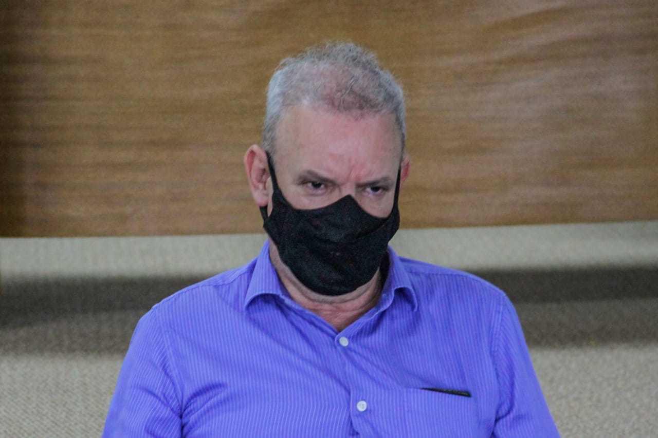 O secretário estadual de saúde, Geraldo Resende. (Foto: Silas Lima)