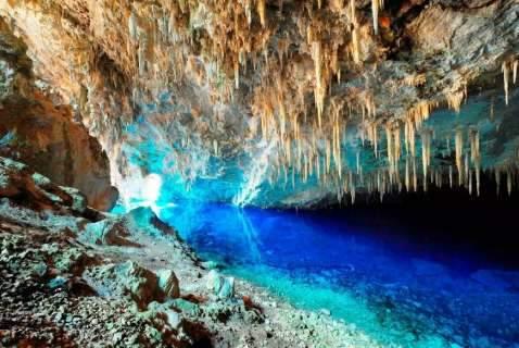 Gruta do Lago Azul reabre dia 17 com tarifa que varia de R$ 90,00 a R$ 130,00