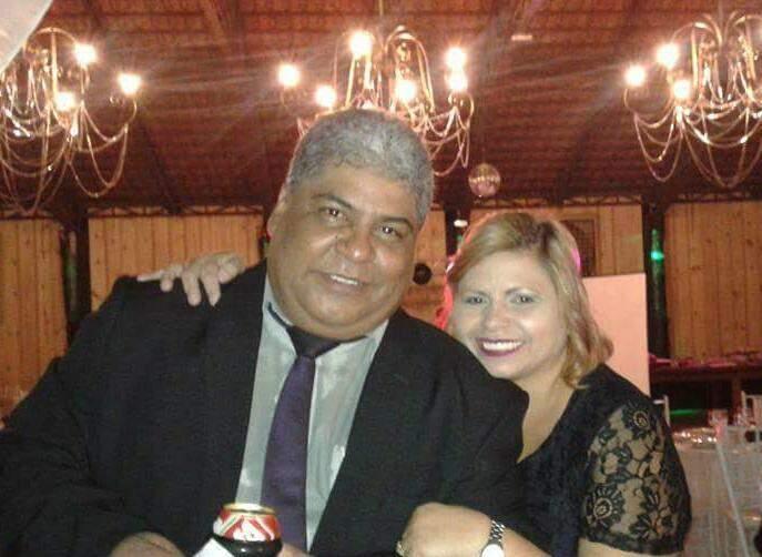 Luiz Augusto e a esposa, Mara, falecida na semana passada. (Foto: Arquivo da Família)