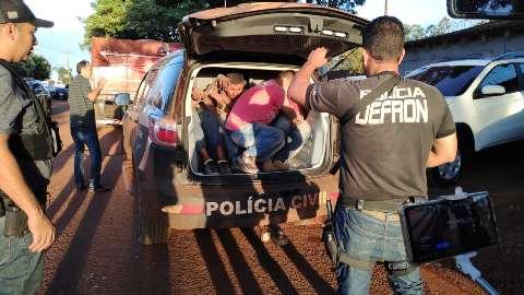 Maconha apreendida em ação com traficante baleado pesou 7 toneladas