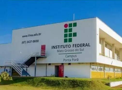 Campus do instituto em Ponta Porã. (Foto: IFMS)