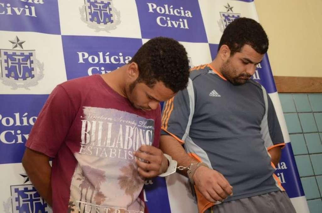 Mauricio de Souza (à direita), ao lado de comparsa de crime, em 2014 (Foto: Divulgação)