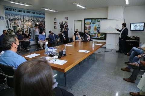 Em reunião com prefeitura, comércio tenta reverter proibições na Capital