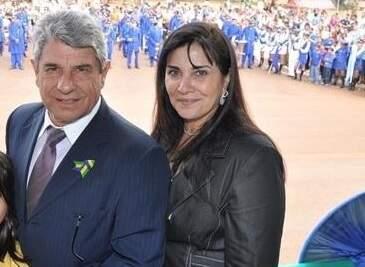 Fiuza ao lado da mulher, Rosi, que será vice de Vanda Camilo (Foto: Reprodução/Facebook)