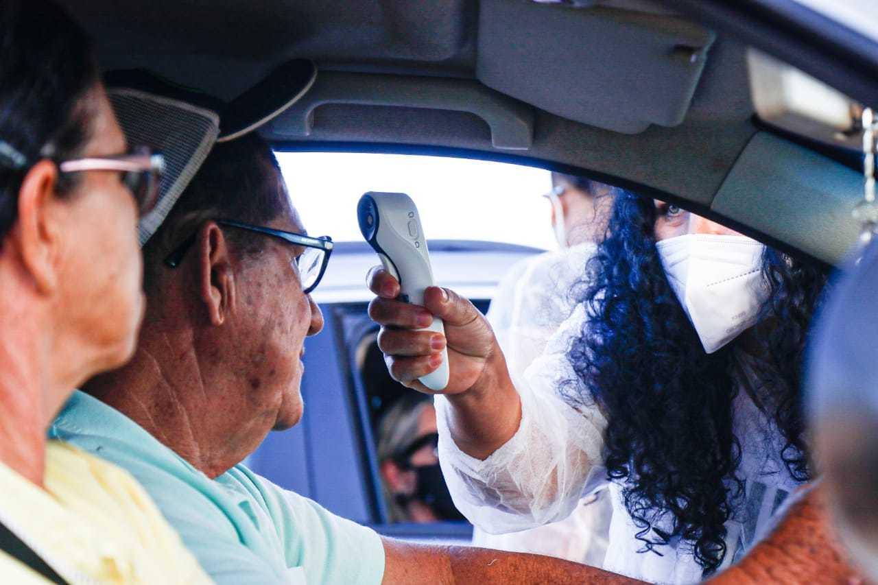 Prefeitura da Capital reativou barreiras sanitárias como forma de conter casos de covid-19 (Foto: Henrique Kawaminami)