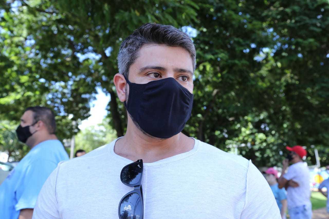 Wanderson Arruda cobra maior fiscalizações contra festas clandestinas e teme a prorrogação do decreto (Foto: Kísie Ainoã)