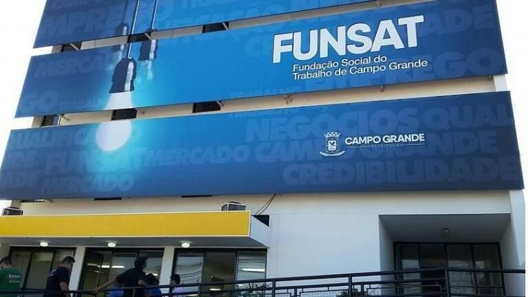 Funsat continua com o serviço presencial em meio período, das 07h30 às 13h30 (Foto Divulgação)