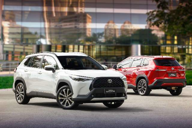 Toyota lança novo Corolla Cross no Brasil