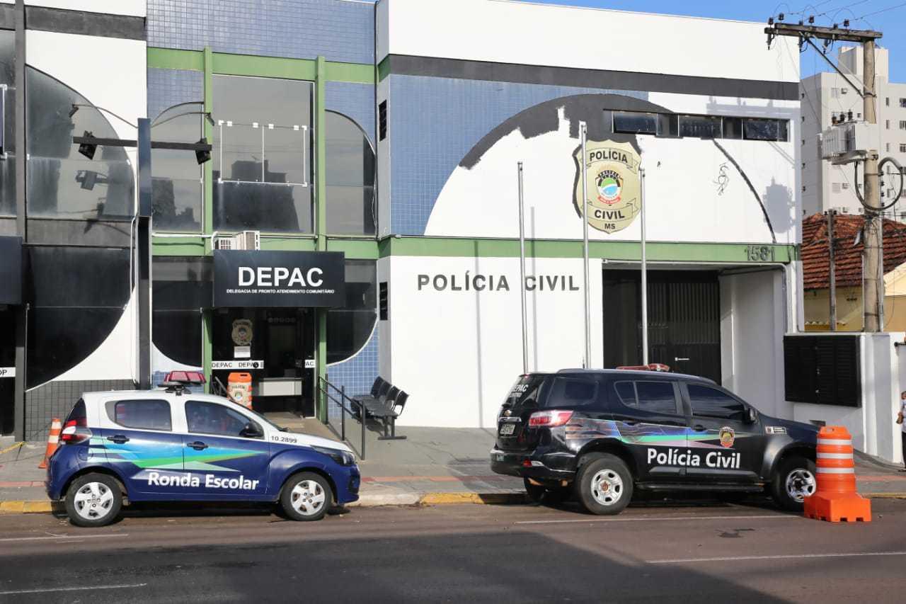 O caso foi registrado na Depac (Delegacia de Pronto Atendimento Comunitário) Centro. (Foto: Paulo Francis)