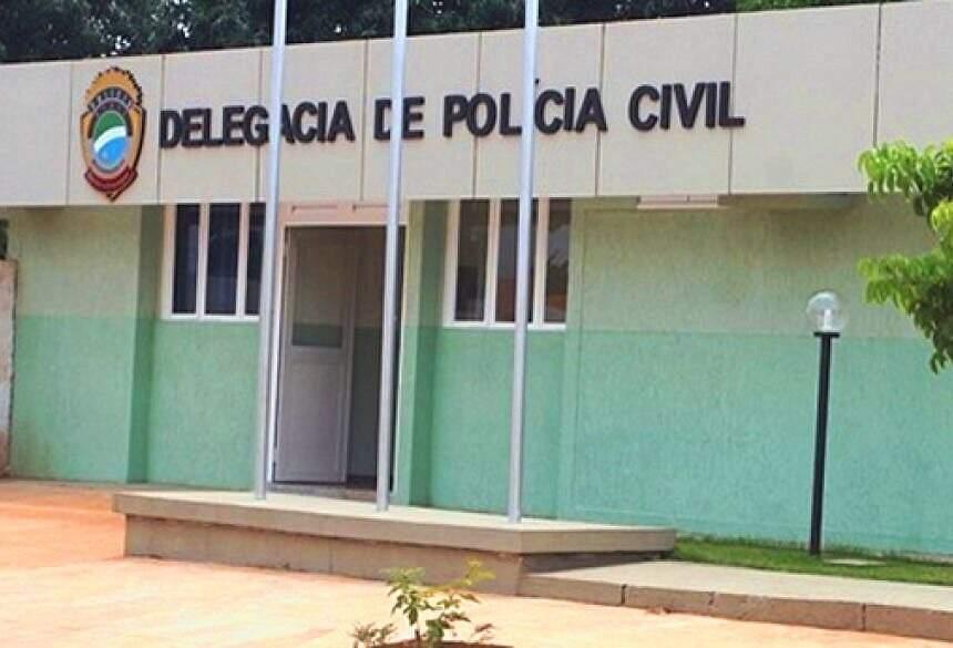 O caso foi registrado na Delegacia de Polícia Civil de Vicentina. (Foto: Fátima News)
