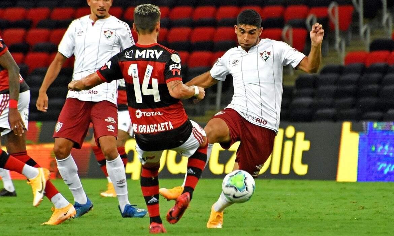 Partida marca a estreia do técnico Roger Machado no comando do tricolor (Foto: Mailson Santana/Fluminense)