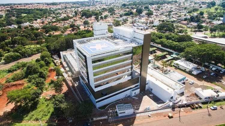 Hospital da Unimed, em Campo Grande, é uma das unidades de saúde que assinam o comunicado. (Foto: Divulgação)