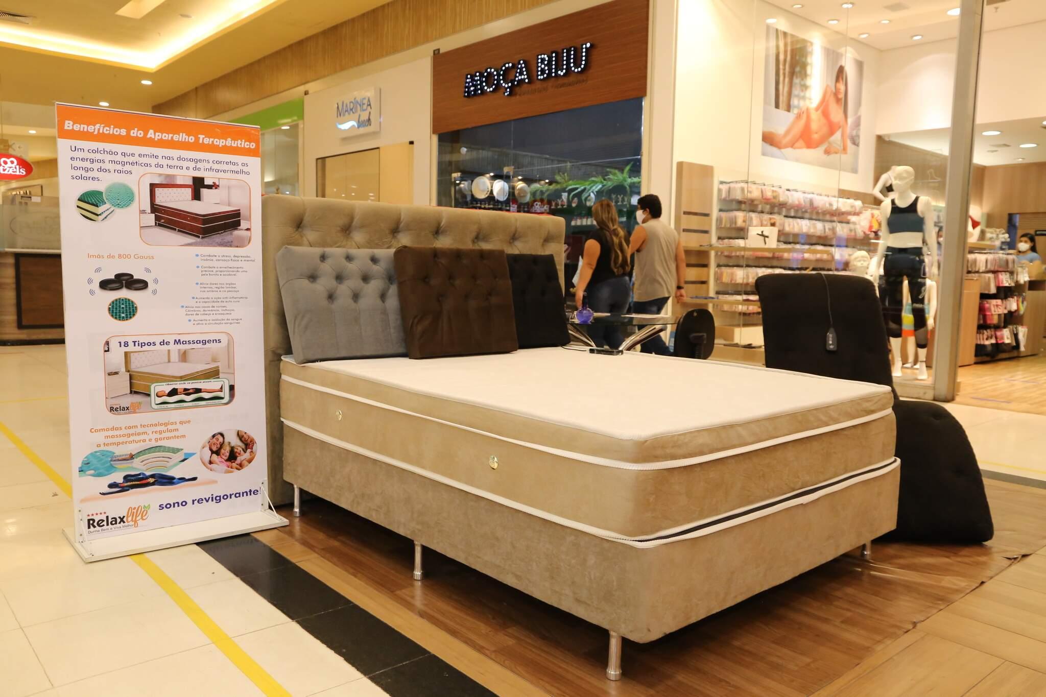A Relax Life também está no Shopping Norte Sul Plaza, na Avenida Presidente Ernesto Geisel, 2300, Jardim Jóquei Clube. (Foto: Kisie Ainoã)
