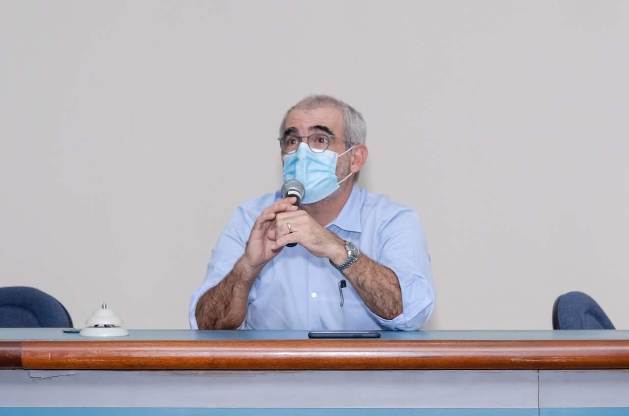 O presidente do Conselho Regional de Medicina em MS, Maurício Jafar. (Foto: Divulgação)