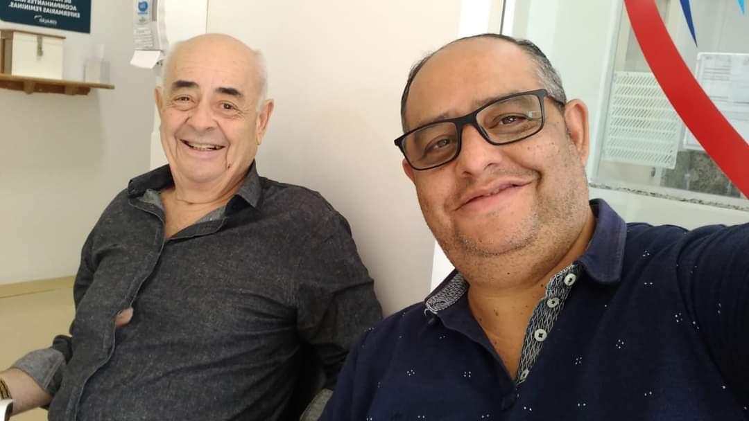 Edmundo e Marcos morreram com poucas horas de diferença nesta segunda-feira (15). (Foto: Arquivo pessoal)