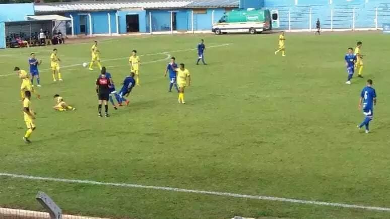 Foto de partida disputada em novembro de 2020, entre Grêmio Santo Antônio e Cruzeiro (Foto: Arquivo/Ricardo Paredes)