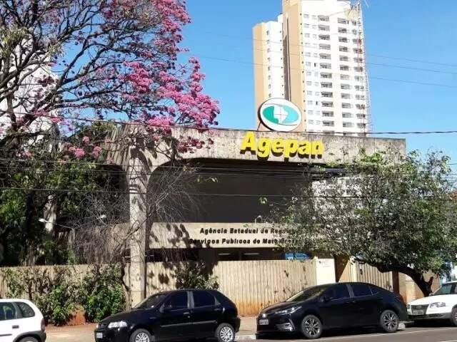 Sede da Agepan, em Campo Grande (Foto: Campo Grande News/Arquivo)