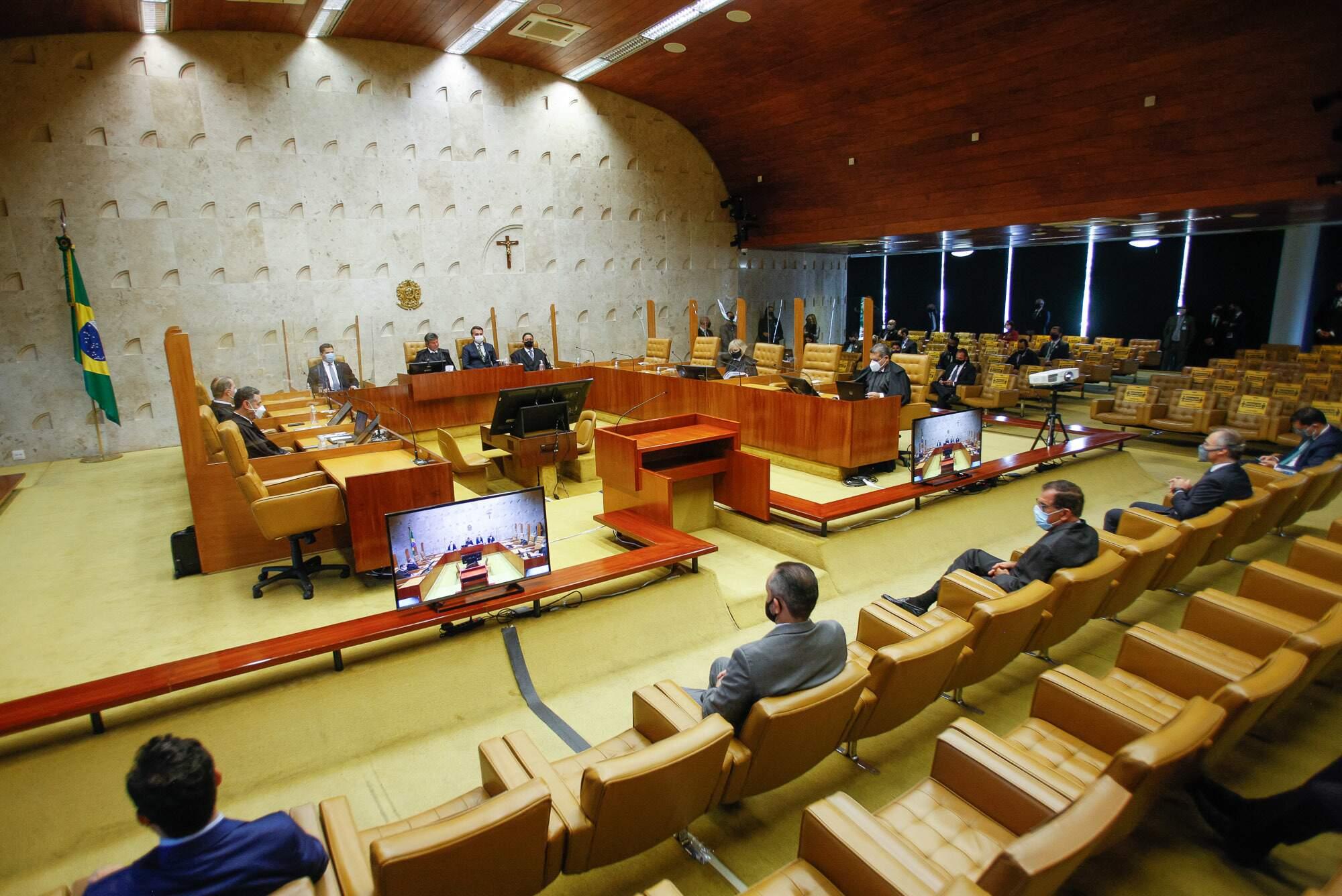Supremo Tribunal Federal recebeu ações contra leis de oito Estados. (Foto: Fellipe Sampaio/SCO/STF)