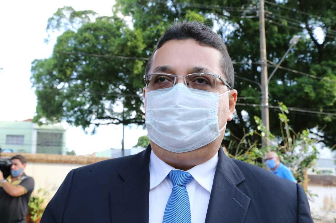 Secretário municipal de segurança pública, Valério Azambuja. (Foto: Kisie Ainoã)