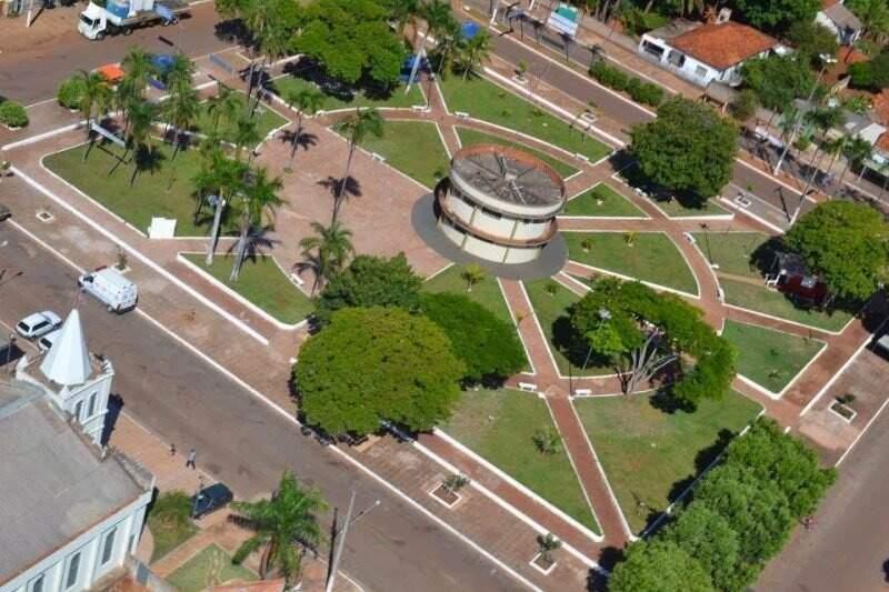 Guia Lopes da Laguna, vista de cima. (Foto: Divulgação)