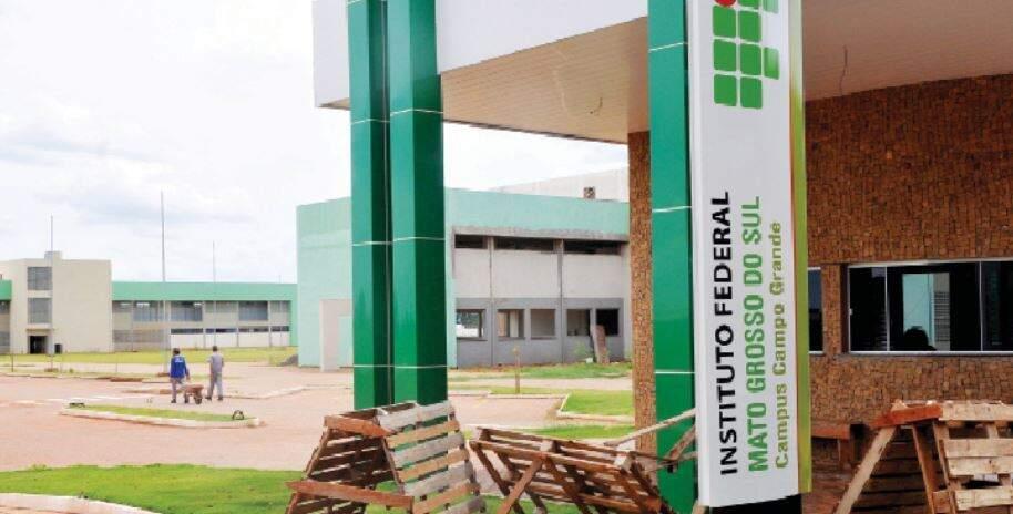 Campus do IFMS em Campo Grande. (Foto: Divulgação)