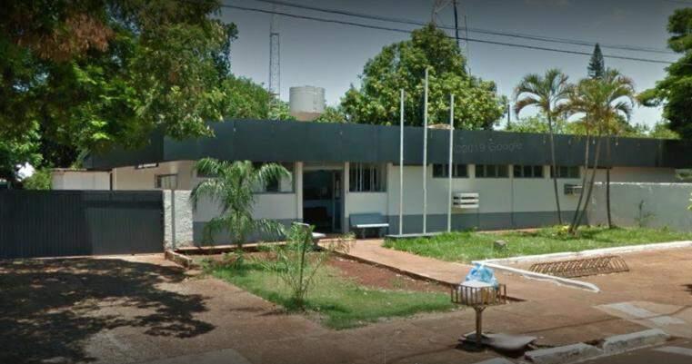 Fachada da delegacia do municipio de Maracaju.(Foto: Google Streat View)