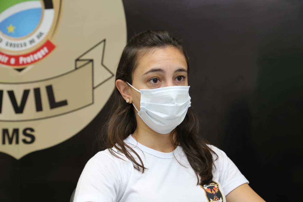 Fernanda Piovani, delegada da DEAM (Foto: Kísie Ainoã)
