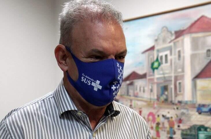 Secretário de Estado de Saúde, Geraldo Resende, vai atender ao pedido de esforço nacional por mutirão de vacina (Foto Chico Ribeiro)