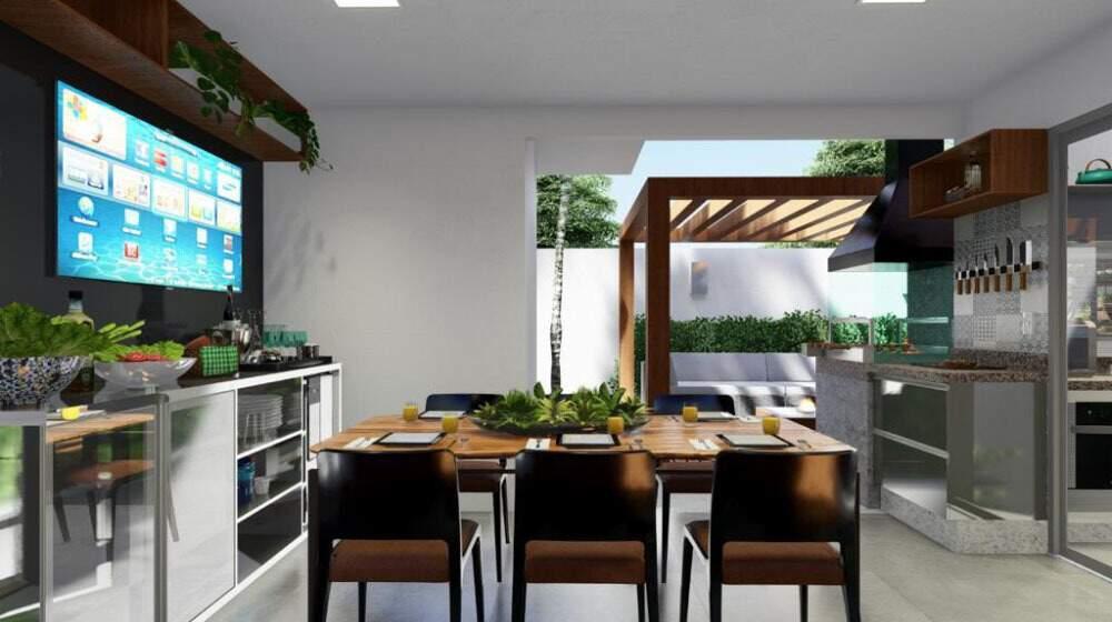 Não adie seu desejo de morar em uma casa incrível -venha para o Blu Park Residence. (Foto: Divulgação)