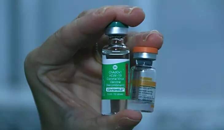 Doses da vacina Astrazeneca (verde) e Coronavac (Foto: Governo MS/Divulgação)