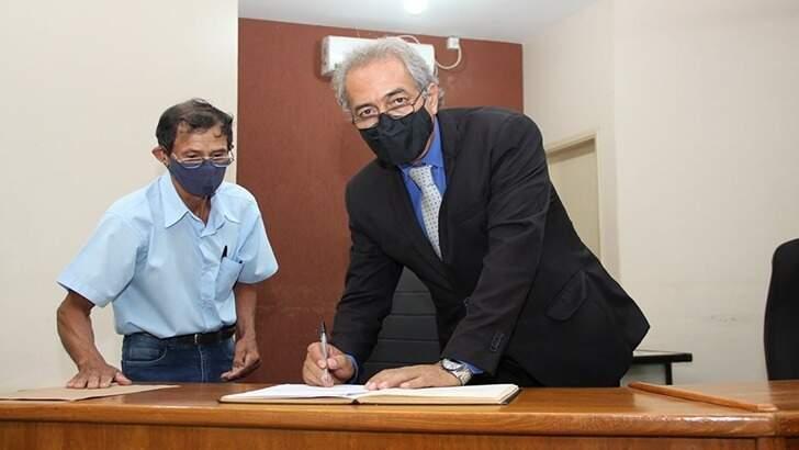 Vereador exerce a função de presidente da Câmara Municipal de Guia Lopes da Laguna (Foto: Divulgação)