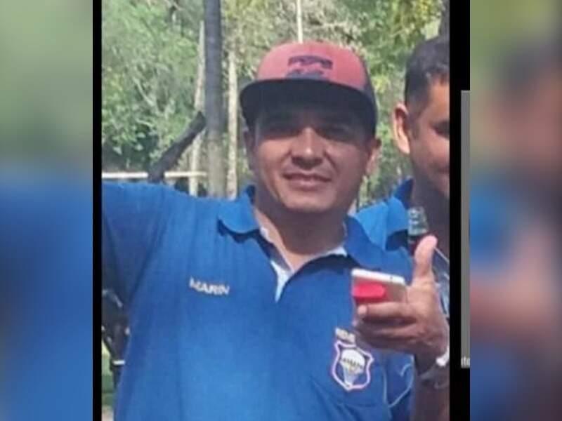 O paraguaio Justino Marin Suárez, morto a tiros no sábado (Foto: Reprodução)
