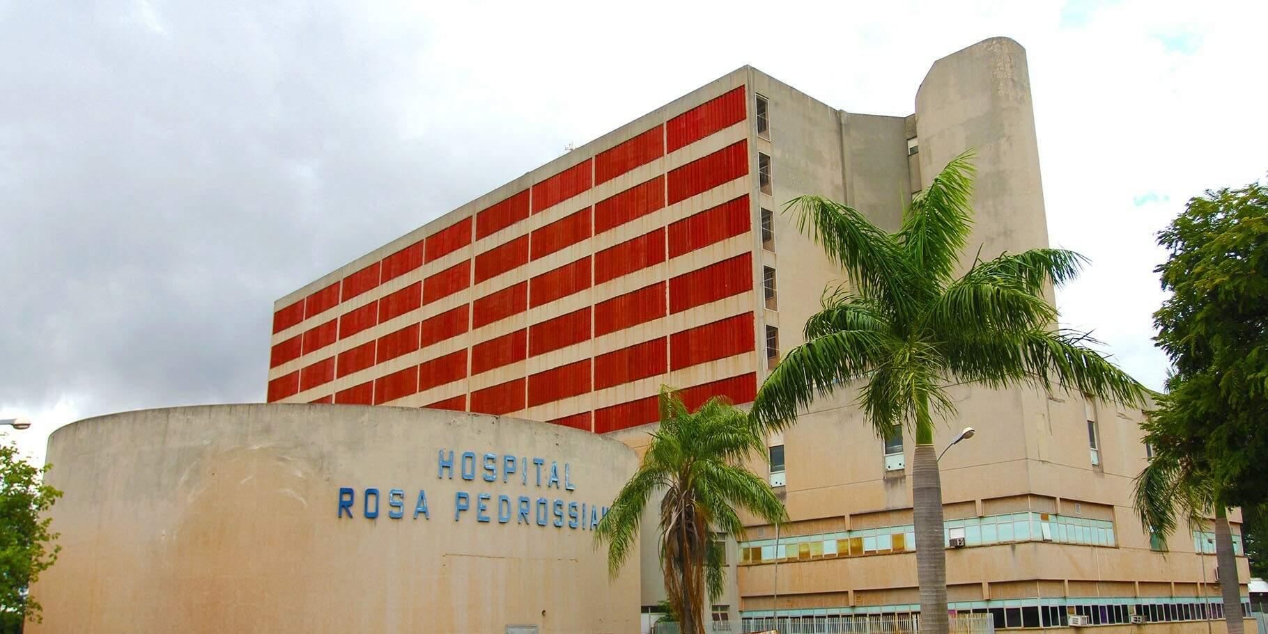 Hospital Regional em Campo Grande. (Foto: Edemir Rodrigues)